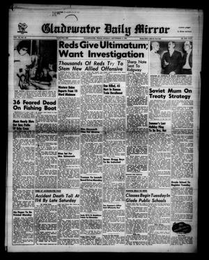 Primary view of object titled 'Gladewater Daily Mirror (Gladewater, Tex.), Vol. 3, No. 39, Ed. 1 Sunday, September 2, 1951'.