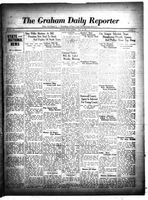 Primary view of The Graham Daily Reporter (Graham, Tex.), Vol. 2, No. 9, Ed. 1 Thursday, September 12, 1935