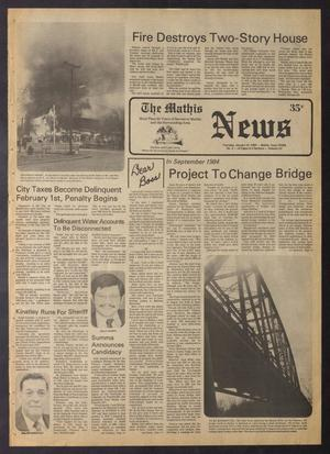 Primary view of The Mathis News (Mathis, Tex.), Vol. 61, No. 3, Ed. 1 Thursday, January 19, 1984