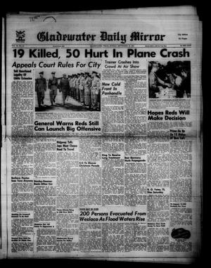 Gladewater Daily Mirror (Gladewater, Tex.), Vol. 3, No. 50, Ed. 1 Sunday, September 16, 1951