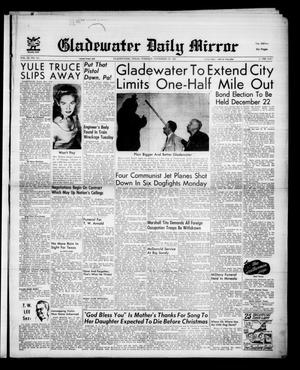 Gladewater Daily Mirror (Gladewater, Tex.), Vol. 3, No. 111, Ed. 1 Tuesday, November 27, 1951