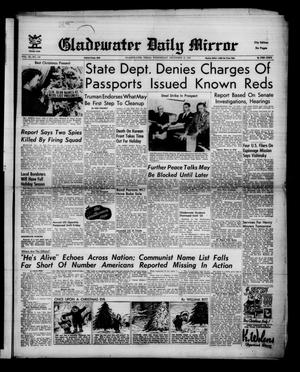 Primary view of Gladewater Daily Mirror (Gladewater, Tex.), Vol. 3, No. 130, Ed. 1 Wednesday, December 19, 1951