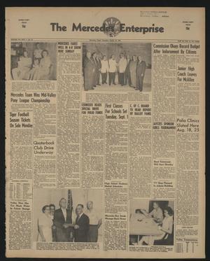 The Mercedes Enterprise (Mercedes, Tex.), Vol. 44, No. 33, Ed. 1 Thursday, August 13, 1959