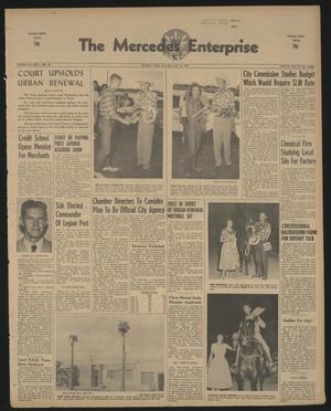 Primary view of object titled 'The Mercedes Enterprise (Mercedes, Tex.), Vol. 44, No. 29, Ed. 1 Thursday, July 16, 1959'.