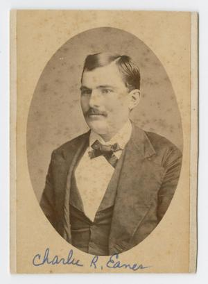 Primary view of [Portrait of Charles R. Eanes]