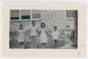 [Four Eanes Rock Schoolhouse Students]