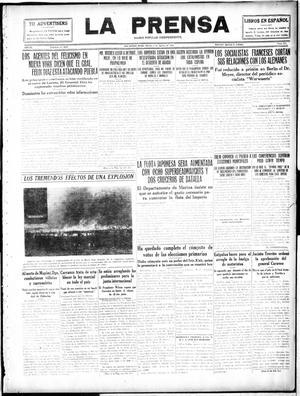 Primary view of La Prensa (San Antonio, Tex.), Vol. 4, No. 634, Ed. 1 Tuesday, August 8, 1916