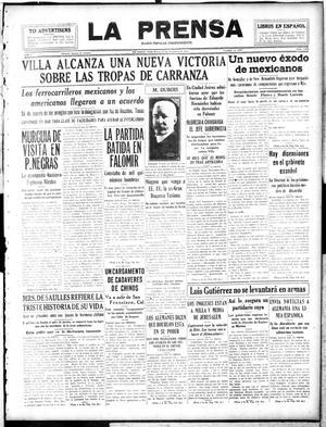 La Prensa (San Antonio, Tex.), Vol. 5, No. 1107, Ed. 1 Tuesday, November 27, 1917, La Prensa