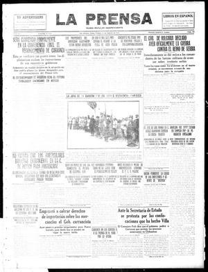 La Prensa (San Antonio, Tex.), Vol. 3, No. 340, Ed. 1 Friday, October 15, 1915, La Prensa