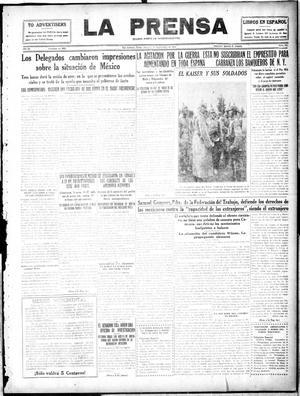 La Prensa (San Antonio, Tex.), Vol. 4, No. 664, Ed. 1 Thursday, September 7, 1916, La Prensa