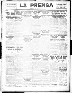 La Prensa (San Antonio, Tex.), Vol. 4, No. 527, Ed. 1 Friday, April 21, 1916, La Prensa