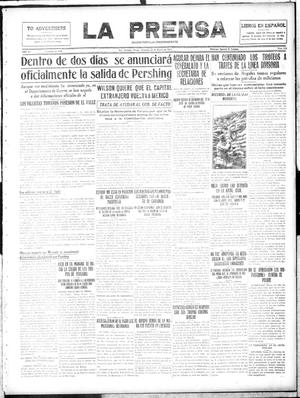 Primary view of La Prensa (San Antonio, Tex.), Vol. 4, No. 815, Ed. 1 Sunday, January 28, 1917