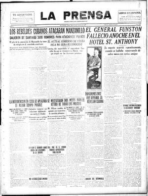 Primary view of La Prensa (San Antonio, Tex.), Vol. 5, No. 838, Ed. 1 Tuesday, February 20, 1917