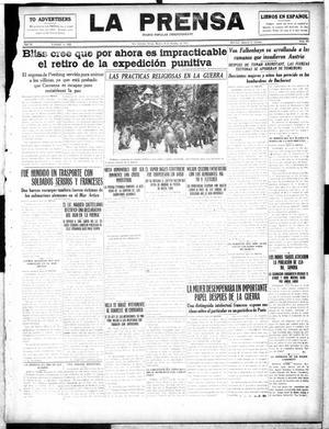 La Prensa (San Antonio, Tex.), Vol. 4, No. 697, Ed. 1 Tuesday, October 10, 1916, La Prensa