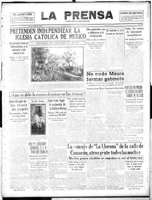 La Prensa (San Antonio, Tex.), Vol. 5, No. 1083, Ed. 1 Saturday, November 3, 1917