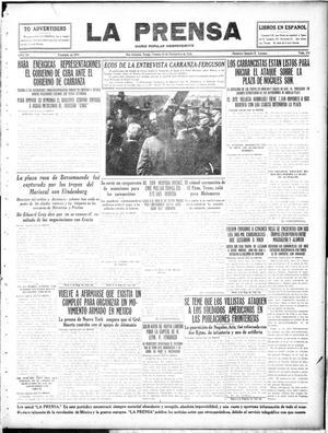 La Prensa (San Antonio, Tex.), Vol. 3, No. 382, Ed. 1 Friday, November 26, 1915