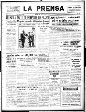 La Prensa (San Antonio, Tex.), Vol. 5, No. 1031, Ed. 1 Saturday, September 1, 1917