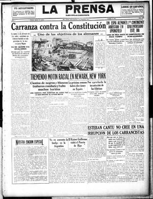 La Prensa (San Antonio, Tex.), Vol. 5, No. 1029, Ed. 1 Sunday, September 9, 1917