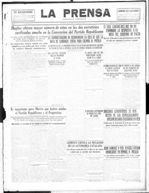 La Prensa (San Antonio, Tex.), Vol. 4, No. 575, Ed. 1 Saturday, June 10, 1916