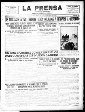 La Prensa (San Antonio, Tex.), Vol. 3, No. 155, Ed. 1 Saturday, April 10, 1915