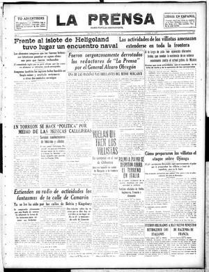 La Prensa (San Antonio, Tex.), Vol. 5, No. 1069, Ed. 1 Monday, November 19, 1917, La Prensa
