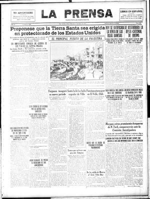 La Prensa (San Antonio, Tex.), Vol. 4, No. 804, Ed. 1 Wednesday, January 17, 1917, La Prensa