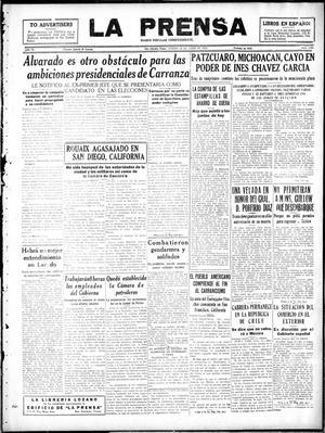 Primary view of La Prensa (San Antonio, Tex.), Vol. 6, No. 1229, Ed. 1 Friday, June 28, 1918
