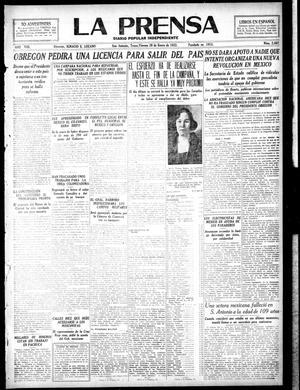 La Prensa (San Antonio, Tex.), Vol. 8, No. 2,462, Ed. 1 Friday, January 20, 1922, La Prensa
