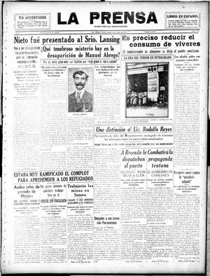 La Prensa (San Antonio, Tex.), Vol. 5, No. 1134, Ed. 1 Saturday, January 26, 1918, La Prensa
