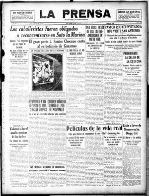 La Prensa (San Antonio, Tex.), Vol. 6, No. 1205, Ed. 1 Friday, May 3, 1918, La Prensa