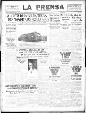 Primary view of object titled 'La Prensa (San Antonio, Tex.), Vol. 6, No. 1230, Ed. 1 Tuesday, May 28, 1918'.