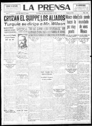 La Prensa (San Antonio, Tex.), Vol. 6, No. 1340, Ed. 1 Tuesday, October 8, 1918, La Prensa