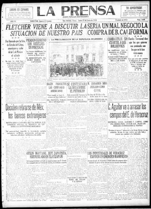 La Prensa (San Antonio, Tex.), Vol. 6, No. 1450, Ed. 1 Monday, January 27, 1919, La Prensa