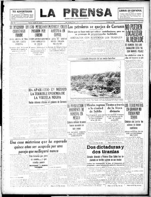 Primary view of object titled 'La Prensa (San Antonio, Tex.), Vol. 6, No. 1219, Ed. 1 Friday, May 17, 1918'.