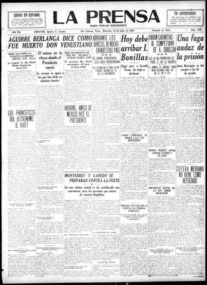 La Prensa (San Antonio, Tex.), Vol. 7, No. 1900, Ed. 1 Wednesday, June 16, 1920, La Prensa