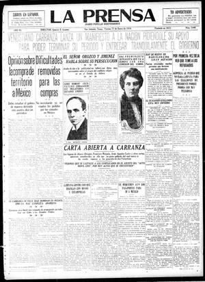 La Prensa (San Antonio, Tex.), Vol. 6, No. 1440, Ed. 1 Friday, January 17, 1919, La Prensa