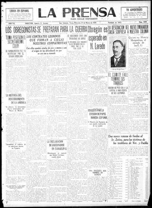 La Prensa (San Antonio, Tex.), Vol. 7, No. 1869, Ed. 1 Wednesday, March 24, 1920, La Prensa