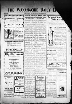 Primary view of The Waxahachie Daily Light (Waxahachie, Tex.), Vol. 11, No. 210, Ed. 1 Friday, December 4, 1903