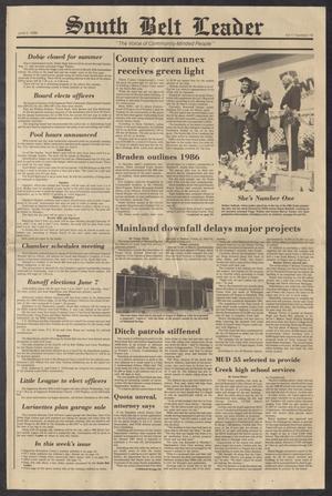 South Belt Leader (Houston, Tex.), Vol. 11, No. 19, Ed. 1 Thursday, June 5, 1986