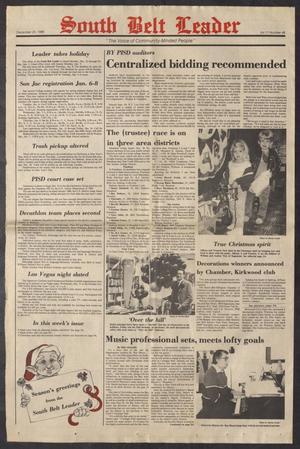 South Belt Leader (Houston, Tex.), Vol. 11, No. 48, Ed. 1 Wednesday, December 24, 1986