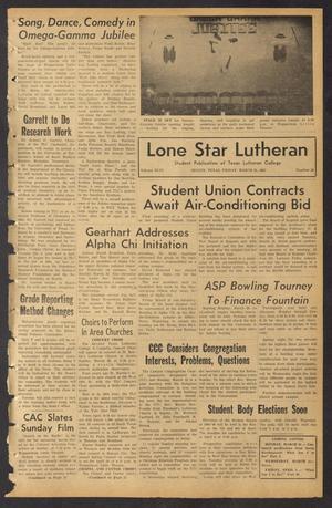 Lone Star Lutheran (Seguin, Tex.), Vol. 46, No. 19, Ed. 1 Friday, March 26, 1965