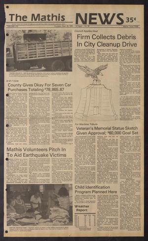 The Mathis News (Mathis, Tex.), Vol. 62, No. 39, Ed. 1 Thursday, September 26, 1985