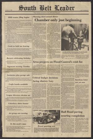 South Belt Leader (Houston, Tex.), Vol. 11, No. 37, Ed. 1 Thursday, October 9, 1986