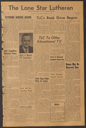 The Lone Star Lutheran (Seguin, Tex.), Vol. 42, No. 20, Ed. 1 Friday, March 17, 1961