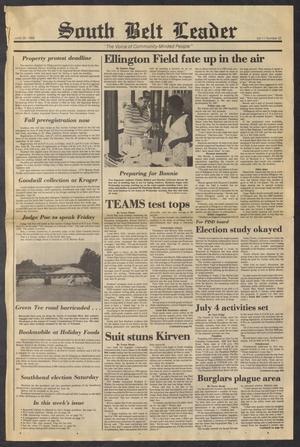 South Belt Leader (Houston, Tex.), Vol. 11, No. 22, Ed. 1 Thursday, June 26, 1986
