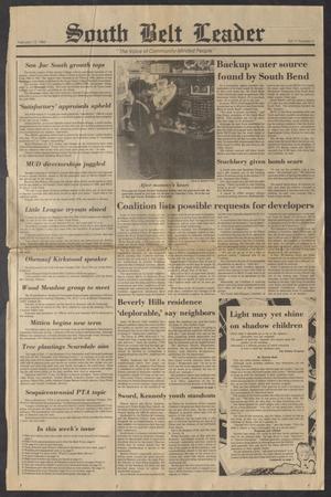 South Belt Leader (Houston, Tex.), Vol. 11, No. 3, Ed. 1 Thursday, February 13, 1986