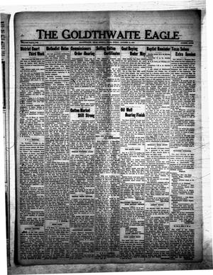 Primary view of object titled 'The Goldthwaite Eagle (Goldthwaite, Tex.), Vol. 41, No. 7, Ed. 1 Friday, October 12, 1934'.