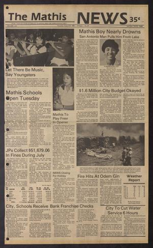 The Mathis News (Mathis, Tex.), Vol. 62, No. 35, Ed. 1 Thursday, August 29, 1985