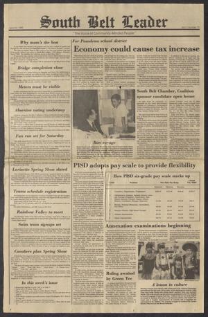 South Belt Leader (Houston, Tex.), Vol. 11, No. 13, Ed. 1 Thursday, April 24, 1986