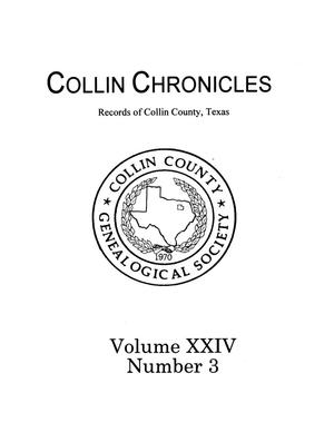 Primary view of object titled 'Collin Chronicles, Volume 24, Number 3, 2003/2004'.
